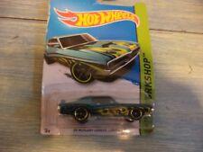 Hotwheels 1969 Mercury Cougar Eliminator menta en tarjeta por favor ver fotos