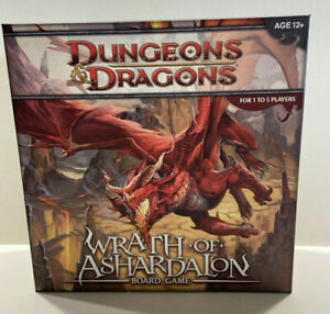 Dungeons & Dragons Wrath Of Ashardalon Board Game (No Minis, Missing 3 Pieces)