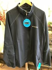 Columbia Men's Five Alarm Omni-Shield Softshell Jacket NWT - Navy - XXL - $115