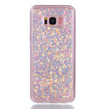 Luxury Glitte Bling Protective TPU Silicone Rubber Soft + PC Back Case Cover ZD