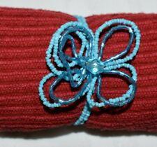 Bohemian Blue Beaded Flower Bracelet