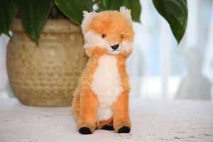 Steiff Fuzzy Fox Dralon 3622,00 Button & Tag