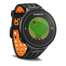 Garmin Approach S6 GPS Golf Watch - Black/Orange - Authorized Dealer, New