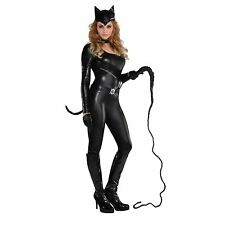 Womens Purrvocative Cat Costume Ladies Fancy Dress Outfit