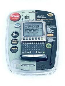 Vintage Royal Info To Go EZ Vue 7 PDA personal Digital Assistant New Sealed