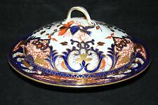 Royal Crown Derby, BLOOR-KINGS IMARI-MUFFIN Dish-c1830