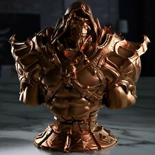 """skeletor statue rose gold 4"""" from He-Man and the Masters of the Universe toy"""