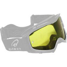Occhiali da moto con montatura in giallo