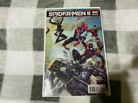 SPIDER-MEN 2 005 5  Walmart variant cover Marvel  comic book SPIDER-MAN