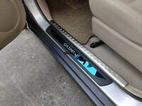 For Nissan Qashqai Accessories Parts Door Sill Auto Protector Scuff Trim2014-19