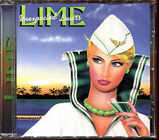 LIME - UNEXPECTED LOVERS - ORIGINAL CANADIAN FIRST PRESS CD ALBUM [2615]