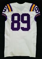 LSU Tigers Game Used Jersey Lightly Worn by #89 With Nameplate Removed
