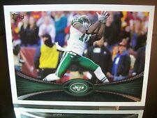 Santonio Holmes Topps 2012 Card #178 New York Jets NFL Football