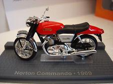 Norton Commando rot 1969 Topmodell  1:24