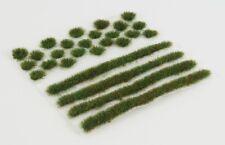 WWS 4mm Autumn Self-Adhesive Static Grass Tufts/Strips Mix - Railroad Warhammer