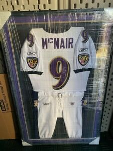 Steve McNair Game Issued Baltimore Ravens Jersey