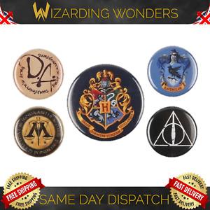 Harry Potter Badge Pack of 5 Badges Official Gift UK
