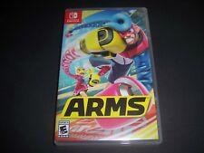 Replacement Case (NO GAME) ARMS Nintendo Switch Box Original