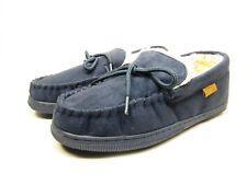 Boston Traveler  Moccasin Slippers 212M Navy Size 11