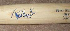 Torii Hunter Autographed Bat