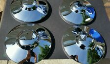 4 Vw volkswagen bug bus thing karmann ghia split oval porsche 356 a b hubcaps