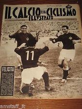 IL CALCIO E CICLISMO ILLUSTRATO 1959/14=MONTUORI GRATTON=FIORENTINA=BENEDETTI=