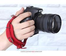 Ciesta Hand Strap Grip for DSLR Camera Red