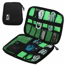 Waterproof Outdoor Travel Kit Nylon Cable Holder Bag Electronic Accessories USB