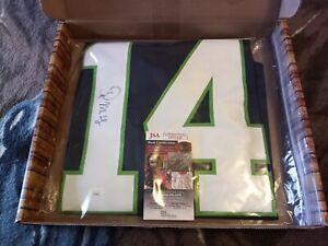 DK Metcalf Autographed Seattle Seahawks Jersey, JSA