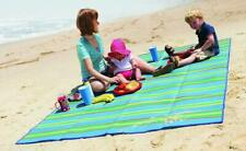 Beach Mat Picnic Blanket Rug Large Sand Waterproof Free Sandless Straw Camping