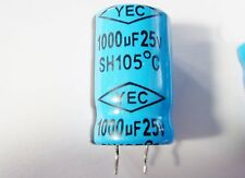 5x 1000uF 25V 105°C ELKO radial YEC JIAN-LONG #15E20