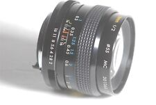 Kino Precision Kiron 28mm f/2 MC Camera Lens For Pentax K Mount SN 30106817