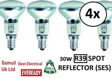 Pack of 4 Lava Lamp 30W Reflector Light Bulbs Bulb SES R39 (E14)