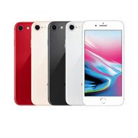 Apple iPhone 8 64GB 128GB 256GB Unlocked Verizon Sprint AT&T T-Mobile CDMA GSM
