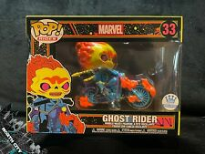 Funko Pop! Rides #33 Ghost Rider (w/ Motorcycle) Black Light Marvel Shop LE