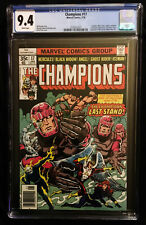 1978 Marvel Champions #17 CGC 9.4 White Pages.