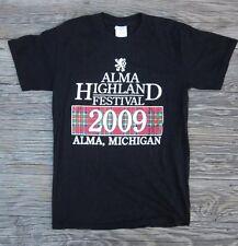 New listing Celtic Alma Highland Festival and Games Michigan 2009 Gildan T-Shirt Size Small