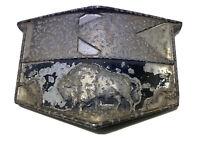 Vintage Kaiser Motors Front Grille Emblem 1945 - 1953 SHIPS FREE IN USA