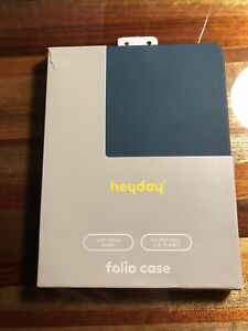 NEW/damaged Box -Heyday Tablet Case Ipad Mini 1,2,3,4&5 Dark Teal
