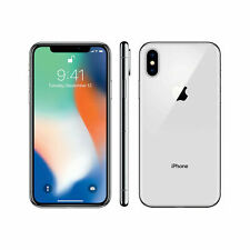 Apple iPhone X | Unlocked | Silver | 64 GB | Certified | 60 Day Returns