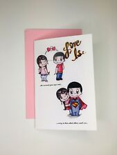 Love Is Greeting Card by Kim Casali (Valentines Day, Thinking of you, Special)