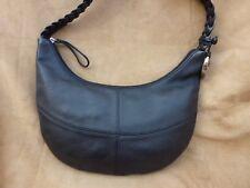 Rocha John Rocha Black Leather Shoulder Bag