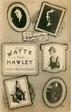 Orpheum Vaudeville - 1919 - Watts and Hawley - real photo
