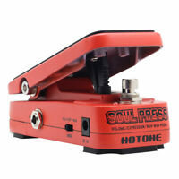 Hotone Soul Press 3 in 1 Active Volume & Analog Wah & Passive Expression Pedal