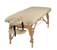 "Heaven Massage Extra Wide 3"" Portable Folding Massage Table Comfort Series w/Car"