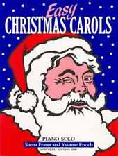 Easy Christmas Carols, sheet music; Diverse.; for piano. - 979000803914