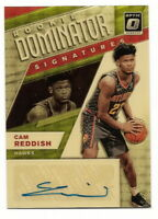 2019-20 DONRUSS OPTIC CAM REDDISH ROOKIE DOMINATOR SIGNATURES GOLD VINYL 1/1