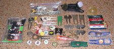 Huge Lot Of Golf Ball Markers-Divot Fixers-Spikes-Pencils-Nov elty Tees & More