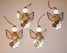 Angel Ornaments Gold Angels Spiritual Ornaments Gold Christmas Ornaments