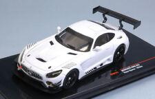 Mercedes Amg Gt3 White Race Version 1:43 Model GTM121 IXO MODEL